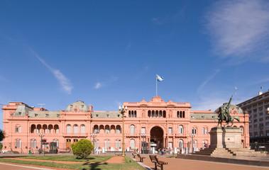 Casa Rosada (Pink House) Presidential Palace of Argentina