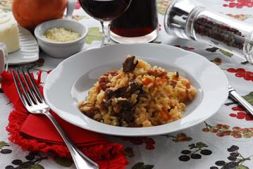 Risotto alla toscana - Primi piatti