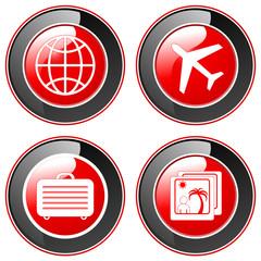 Urlaubsreis - Buttons