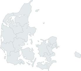 Karte Dänemark