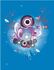 circles abstract vector