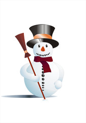 Schneemann / Snowman