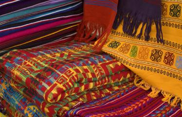 Colorful Mayan Fabrics