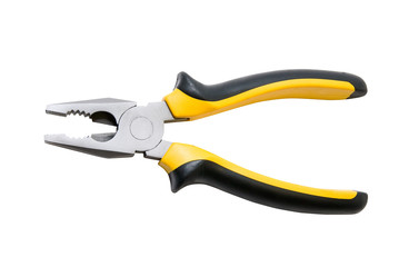 Black and yellow pliers