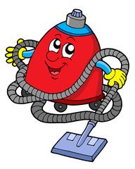 Twisted vacuum cleaner