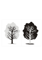 vector tree in negative