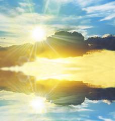 Fototapeta Sunny sky