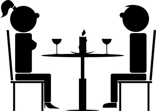 coppia al ristorante