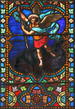The Archangel Michael (stained glass window)