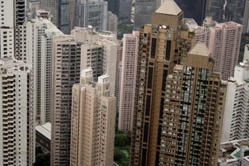 Buildings of Hong-Kong