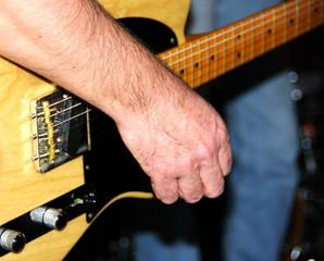 Guitare éléctrique.