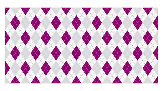 Modisches Burlington-Muster