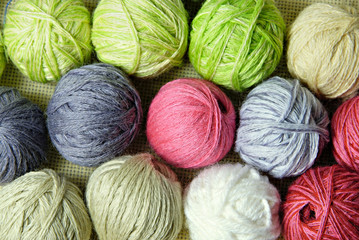 woolen clews background