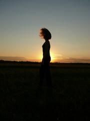 Decline, sunset