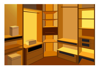 cloackroom vector