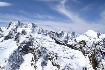 Caucasus Mountains. Dombaj