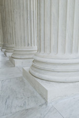 Supreme Court Pillars, in Washington DC