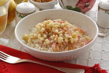 Salsa alle mele con riso -  Contorni - Trentino Alto Adige
