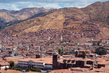 Cuzco the old capital of the Incas