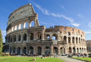 Photo sur Aluminium Rome Colosseum, Rome