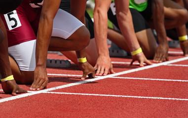 Lamas personalizadas de deportes con tu foto Starting line