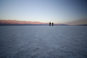 Couple in Death Valley