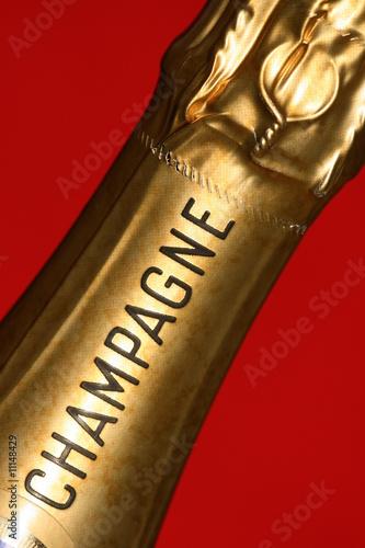 Wall mural champagne, vin, france, paris,bouchon, luxe,  bouteille,reims