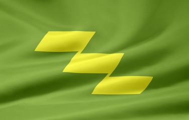 Flagge von Miyazaki - Japan