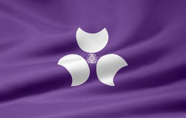 Flagge von Gunma - Japan