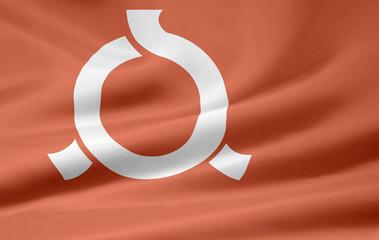 Flagge  von Fukushima - Japan