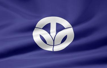 Flagge von Fukui - Japan