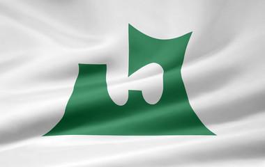 Flagge von Aomori - Japan