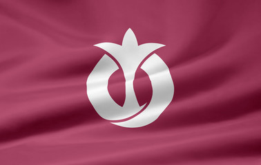 Flagge von Aichi - Japan