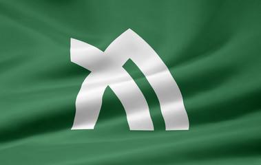 Flagge von Kagawa - Japan