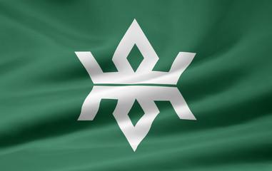 Flagge von Iwate - Japan