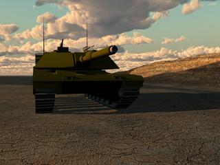 Foto op Canvas Militair War Tank