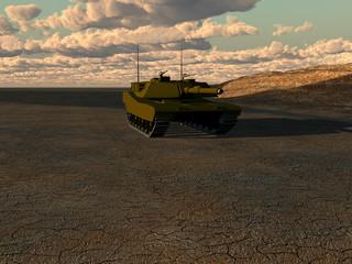 Foto op Canvas Militair War Tank 2