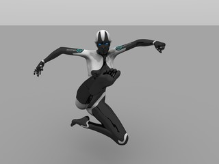 cyborg female kick