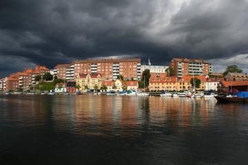Dunkle Wolken über Karlskrona - Dark Clouds over Karlskrona