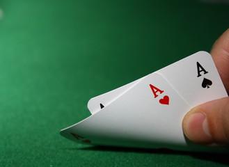 Poker - 2 Aces
