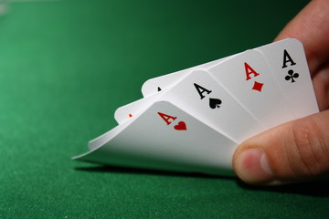 Poker - 4 Aces