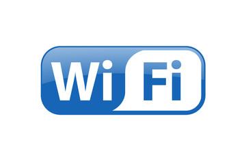 Wifi Icon blau
