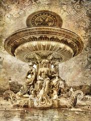 Fototapete - Parisian details - artistic picture