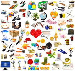 Big set of objects