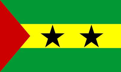 sao tome and principe-flag  aspect ration  5:3