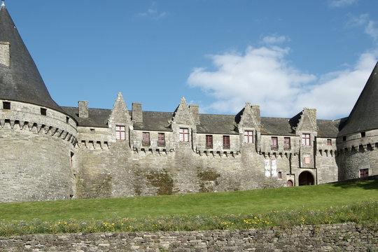 Pontivy Castle (Brittany - France)