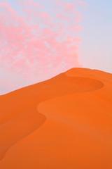 Sand dunes of Erg Chebbi in the Sahara Desert, Morocco