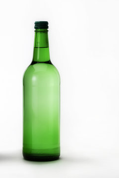 A bottle of fresh water