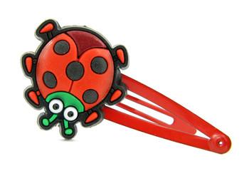 Bobby pin ladybug