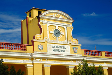 Typical building in Trinidad, Cuba